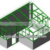 conservatory prices glass garden house, safety aluminum glass structure house