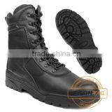 Tactical Boots adopts cowhide full grain leather and Cordura with injection molding or cemented technology