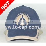 100% cotton waterproof cap golf flat breathable baseball football plug socket 5 panel logo guangzhou cap