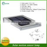 Factory price solar motion sensor led light