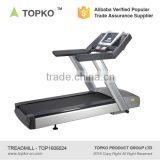 AC3.5HP multifunctional Motorized Commercial Treadmill Peak:6.0HP low-noise AC motor of P1-P16 preset gym fitness treadmill 580