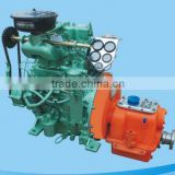High speed marine diesel engine set for open type lifeboat with gearbox ZX2105J 24-28HpHp