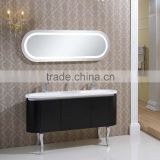 Free standing bathroom vanity unit corner floor cherry felegan free standing bathroom vanity
