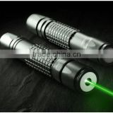 Handheld powerful 200mW green laser pointer with adjustable focus burning lazer w/ Kaleidoscope Cap Rave Party Club