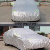 car windshield PEVA+PP cotton rainproof Manufacture 190t polyester with sliver coated sun protection suv car cover
