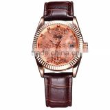 Chaxigo shenzhen Factory watches ladies fashion watch leather belt watch