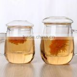 popular sale borosilicate glass tea cup and double wall glass coffee mug and double wall glass cup with mermaid shape