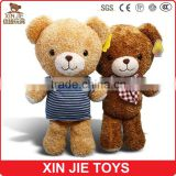 custom nice design plush teddy bear toy good quality stuffed teddy bear factory