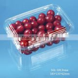 marketing blister plastic clear fruit packaging box