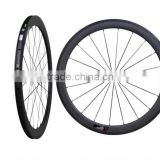 700C 50mm Clincher Carbon Road Bike Rim OEM, 50mm carbon rim, chinese factory cheap complete 50mm clincher wheels