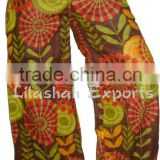 Cotton Trousers printed Cotton Harem Pant cotton print Harem trouser plazzo Pants