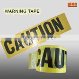 no adhesive caution barrier tape
