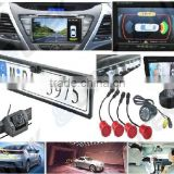 Car parking sensor with reverse camera,2 in 1 car parking sensor camera system, Rearview mirror option