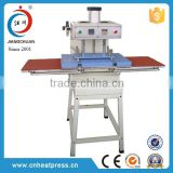 CE heat pressure machinery,air operated heat sublimation apparel