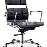 black leather office chair seat cover leather anqiao