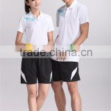 2014 custom design badminton sport polo t shirt
