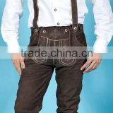 German outfit Trachten Wears / Oktoberfest Lederhosen / Kurze Lederhose / Bavarian Shorts / Leather Pants