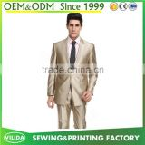 Custom high quality men's party dress suit new design bespoke men formal suit