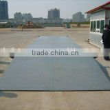 Steel Stracture Electronic vehicle Weighbridge With Printer/Hot Sell Export Movable Truck Scale/100 ton weightbridge