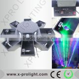 RGB Full color laser light factory price 36x3W led laser 80W octopus laser starry sky laser