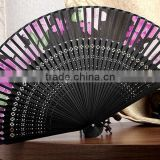high quality palm leaf hand fans/Fancy design hand fans for Promotional Gifts