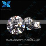 heart and arrow cz / european machine cutting colored synthetic loose cubic zirconia stone