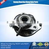 auto spares parts Wheel Hub Bearing FRONT axle RIGHT for TOYOTA VIOS/YARIS14 43550-0D050/435500D050