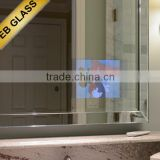 price TV wall decorative mirror, Flat Screen TV Behind Mirror EB GLASS BRAND