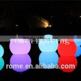 Round Water Floating Lamp Rgb Floating Led Pool Balls/Waterproof Led Light Ball For Pool Or Outside