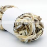 Super soft acrylic knitting yarn / big belly yarn / slub yarn / chunky yarn for hand knitting