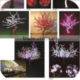 nwe 2014 artificial cherry blossom artificial tree led tree for garden christmas lights tree light