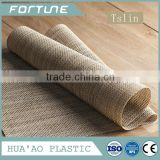 wholesale pvc textilene polyester woven vinyl placemat pieces