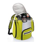 yellow beer cooler backpack food delivery