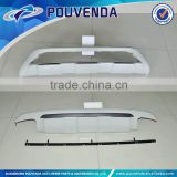 Front and rear skid palte bumper for Volvo XC60 14+ auto accessories Pouvenda manufacturer