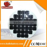90watt b grade solar cell monocrystalline solar panel with aluminum frame