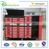 High quality steel metal tool storage cabinet with wheel
