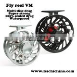 in stock CNC Sealed waterproof Saltwater Salmon fly reel