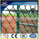 China wholesale professional supply 6 foot pvc coating chain link fence for baseball fields