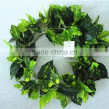 vertical garden wall hanging 240cm Long cheap make fake recycling plastic PE artificial plant EMX10 3001