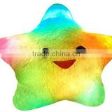 LED star pillow cushion