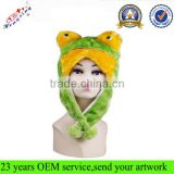 Funny Adult Plush Animal Ears Hats Animal Hat With Paws Winter Animal Hat IN STOCK