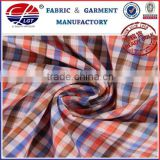 wrinkly free, heat resistant bamboo fabric with yarn dyed and plain pattern