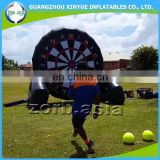 Inflatable soccer dart game giant inflatable soccer dart board