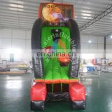 Excellent quality inflatable sport games / pvc mini basketball hoop inflatable indoor play for kids
