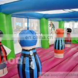 2015 AOQI new designed crazy fun hot seller footall bouncer AQ0147 for kids