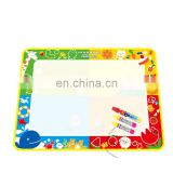 Kids Water color paint Magic Doodle Aquadoodle Mat Drawing Board toys with Pen