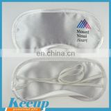 satin eye mask sleeping wholesale with promotional custom logo