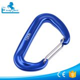 12KN Aluminum Carabiner with spring