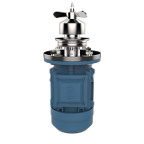 Stainless Steel Customized  Magnetic  Agitator Liquid Homogenizer Mixer for  Water Tank