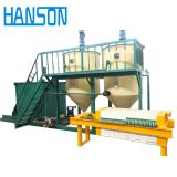 Vegetable castor mustard corn oil refining machine used cooking oil refinery machine